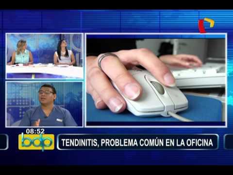 Importante información para prevenir la tendinitis, problema común en la oficina
