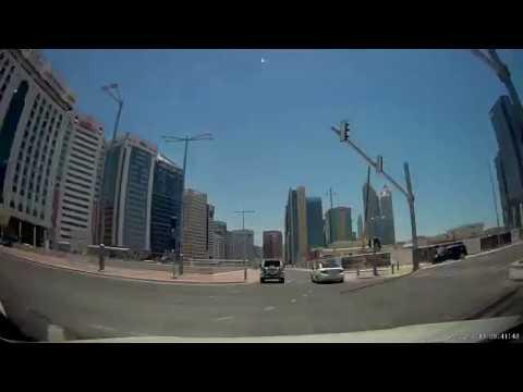 Driving Dubai to Abu Dhabi (Time Lapse)