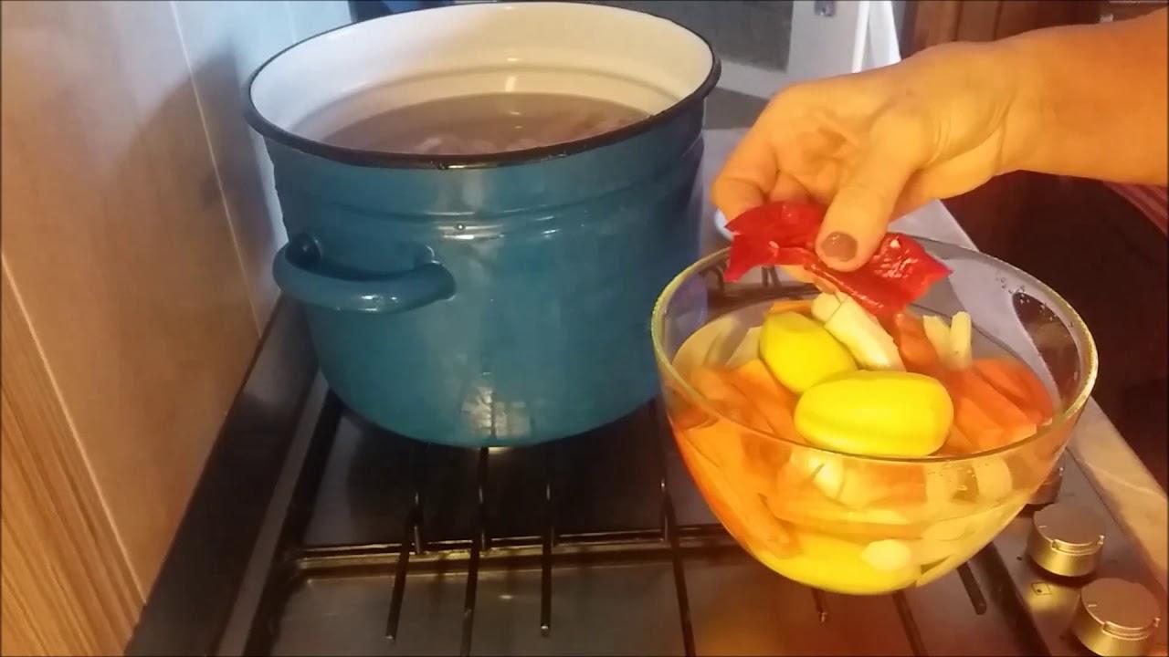 helmint a főzés során)