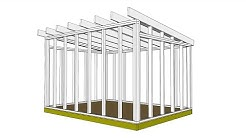 How to Design a Strong Shed Frame in Sketchup