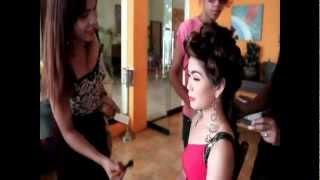 Miss Southern Leyte 2012 candidate VANDA CHARISSA T. DAYAGBIL (Miss Bontoc)
