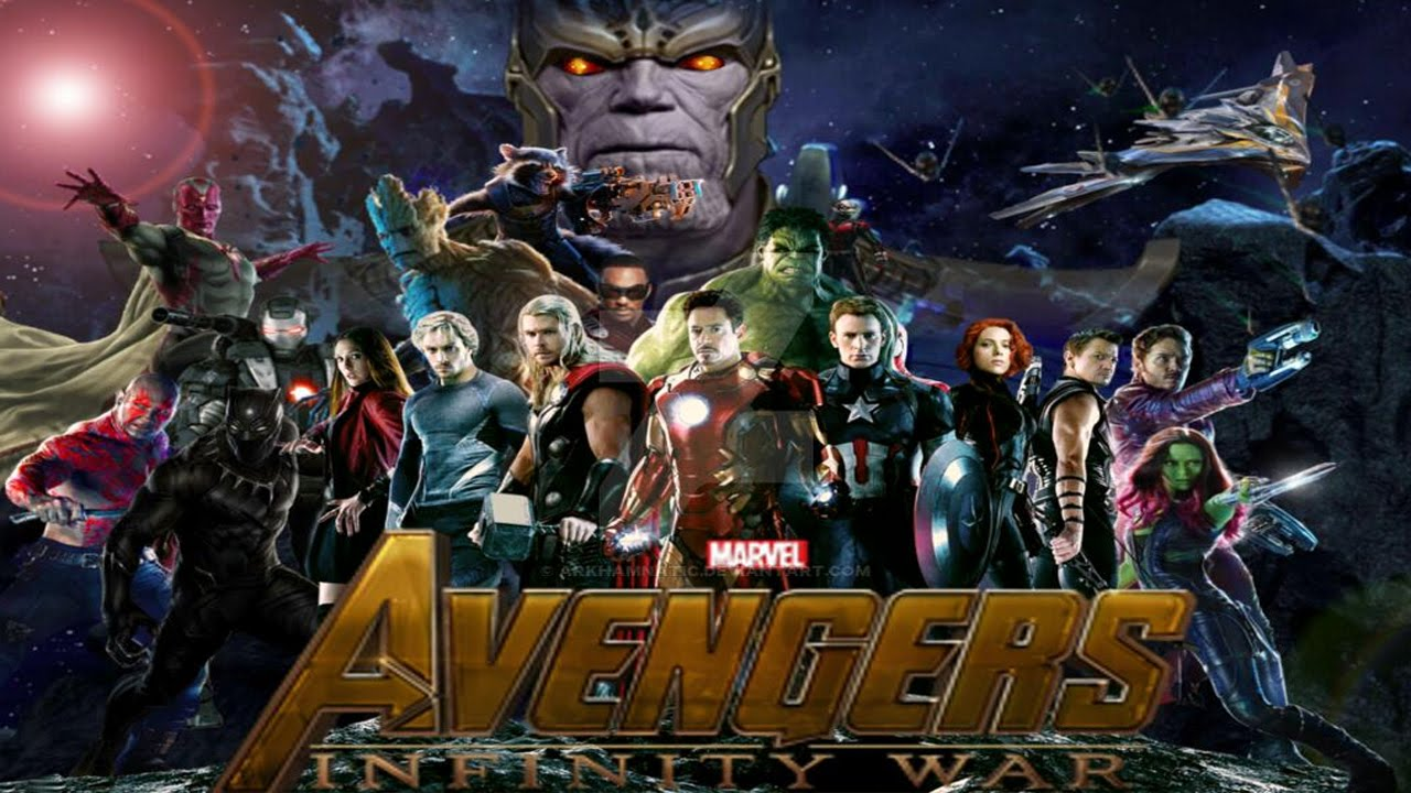 Avengers Infinity War Elenco