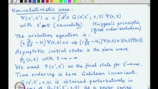 Mod-03 Lec-26 Propagator theory, Non-relativistic case and causality