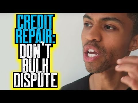 CREDIT REPAIR DON'T BULK DISPUTE || NON RESPONSE LETTERS || WILL NOT RE-INVESTIGATE || 609 DIY