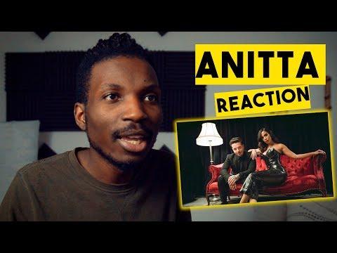 Anitta & J Balvin - Downtown | Official Music Video (Anitta Reaction)