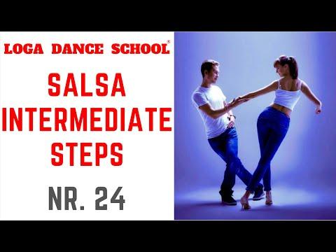 Learn Salsa Dance: Intermediate Steps #24 at Loga Dance School