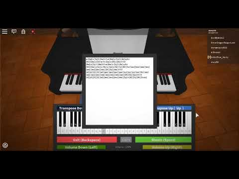 Jingle Bells Roblox Virtual Piano Notes In Desc Youtube