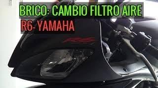 CAMBIO FILTRO AIRE R6 2010