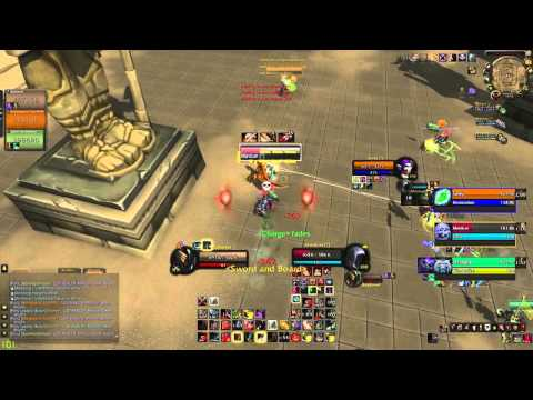 Bajheera - EU Prot Warrior 3v3 as ATC w/ Viewers! :D - WoW 6.2 Warrior PvP
