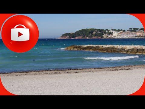 Лазурный берег Франции   Пляж   Бон Грас  Bonnegrâce
