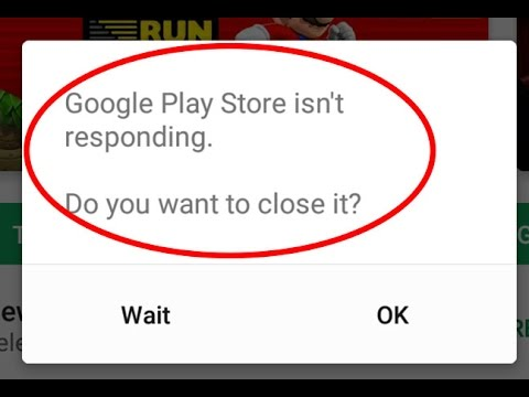 Fix Google Play Store isn't responding or Google play store has stopped  working in Android
