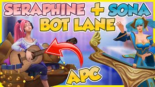 🌼🎶 INDIE SERAPHINE AND SONA JOIN FORCES IN THE BOT LANE | PBE Skin Showcase | Erick Dota