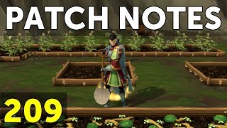 RuneScape Patch Notes #209 - 5th March 2018