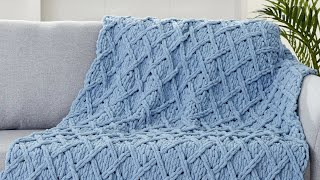 DIY: How to Knit a Latice Blanket