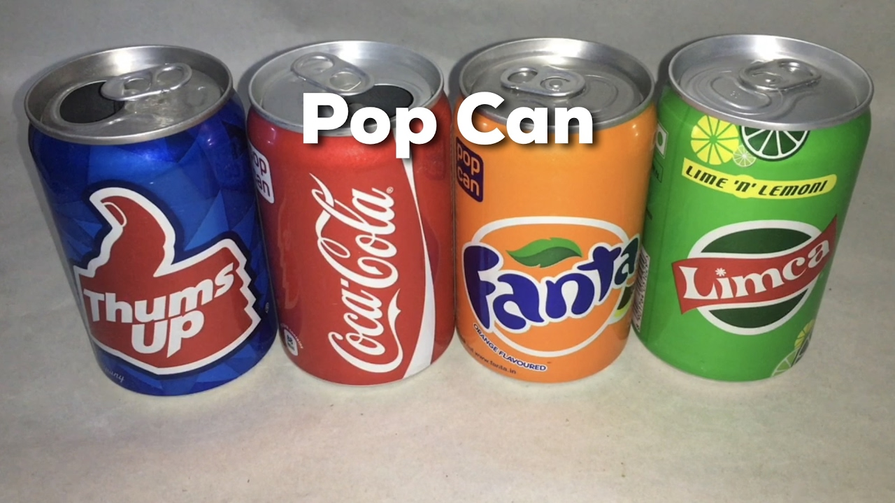 pop can thums up coke fanta limca youtube