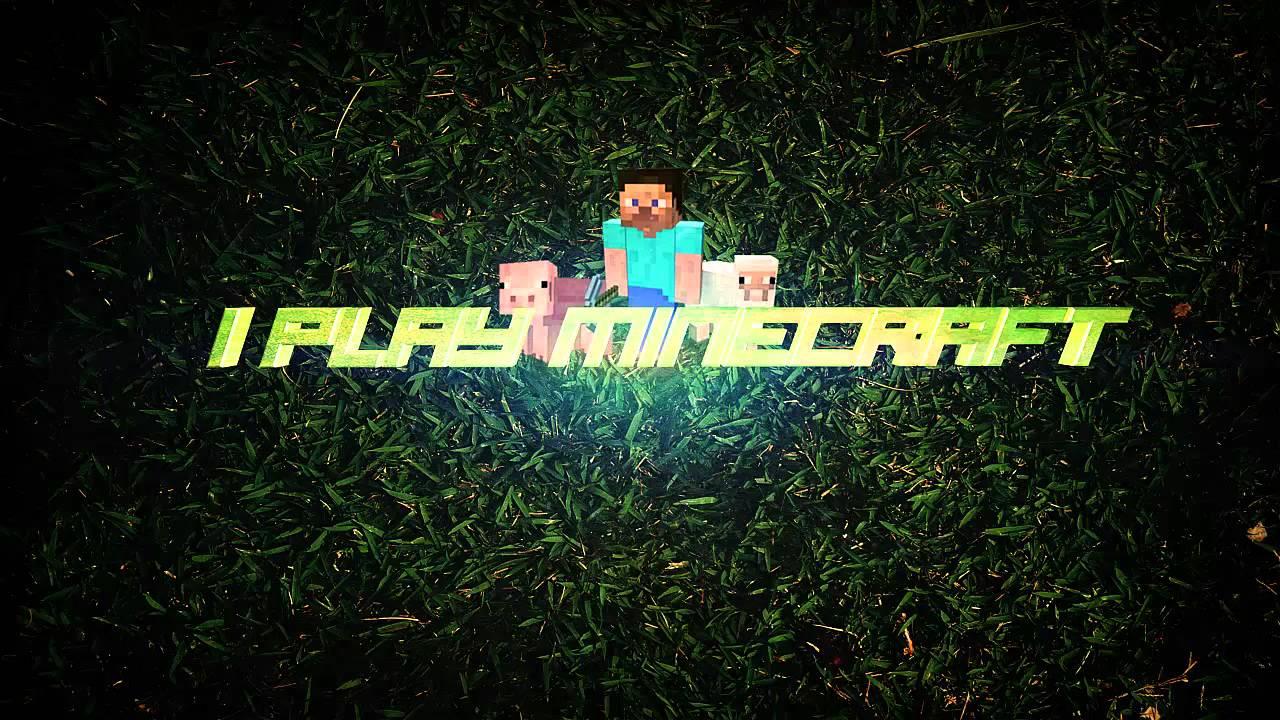 Plano De Fundo Minecraft: I Play Minecraft