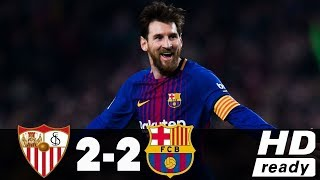Sevilla vs Barcelona • 2-2 - All Goals • Highlights •