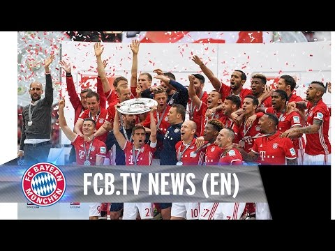 FC Bayern celebrate 26th championship