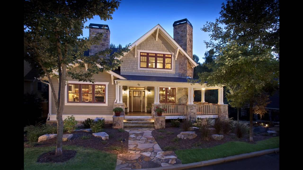 Craftsman Home Exterior craftsman home exterior color ideas - youtube