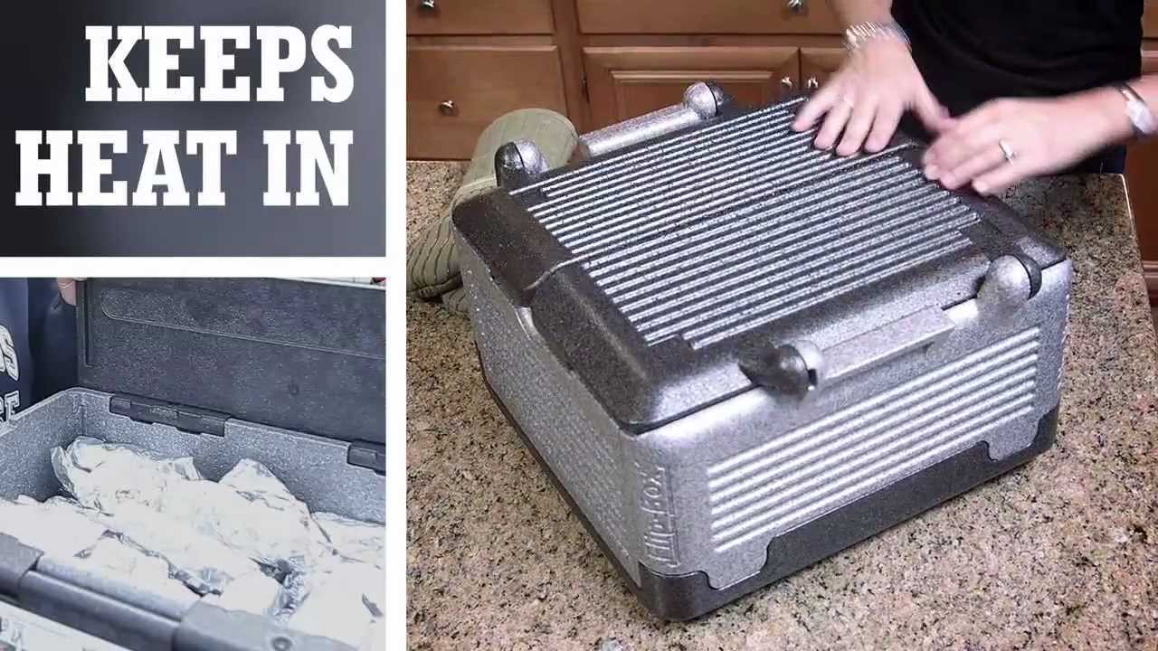 Flip box iceless cooler