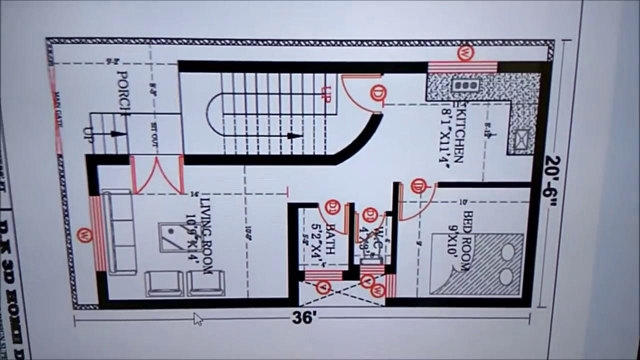 20X36 HOUSE PLAN - YouTube on 16x30 house, 12x12 house, 24x40 house, 10x10 house, 20x24 house, 20x25 house, 24x30 house, 16x32 house, 14x28 house, 20x40 house,