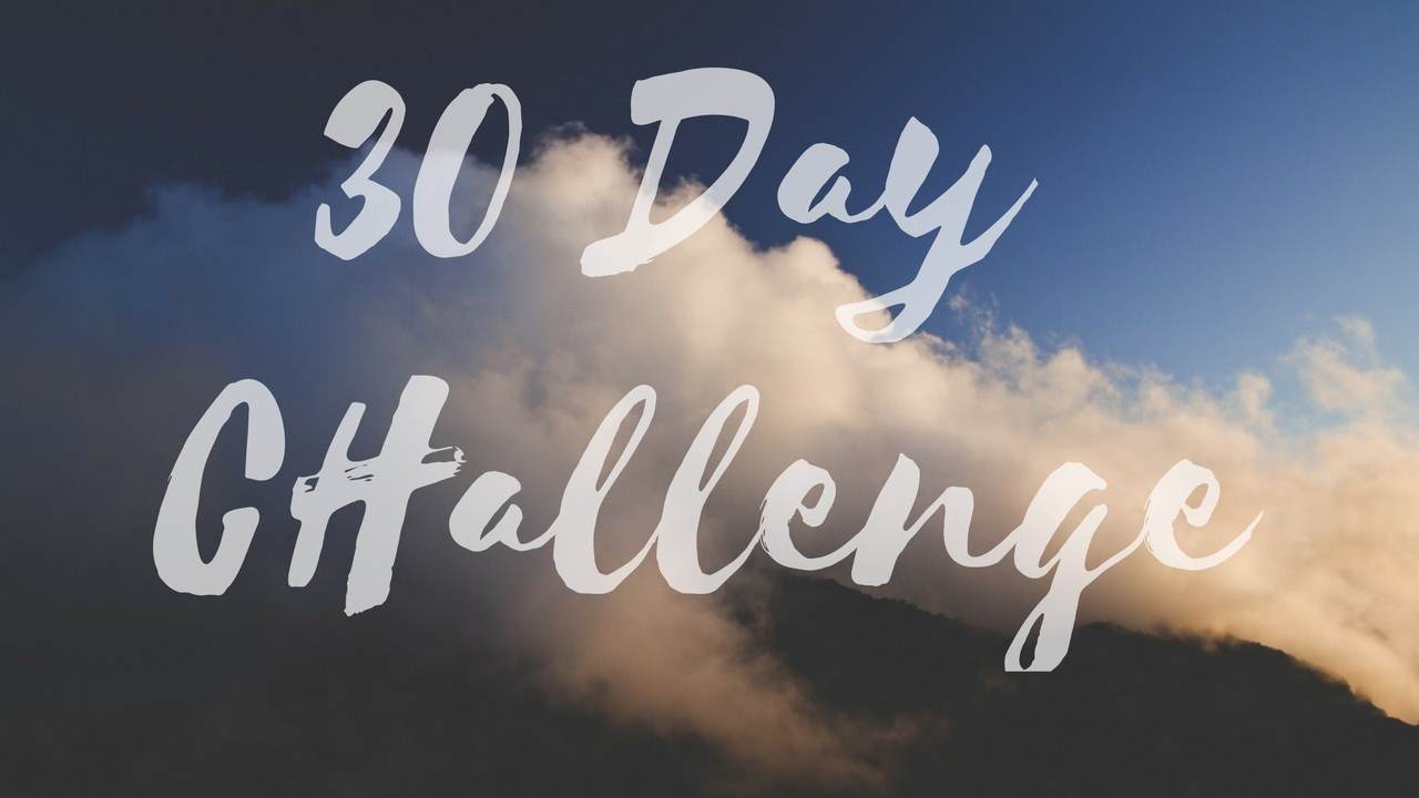 zen habits 30 day challenge