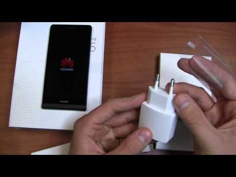 Huawei Ascend P6 Unboxing