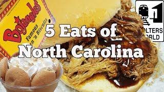 Visit North Carolina - What to Eat in North Carolina