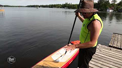 Paddleboarding (SUP) Tips - Docking & Dismount - Pure Muskoka
