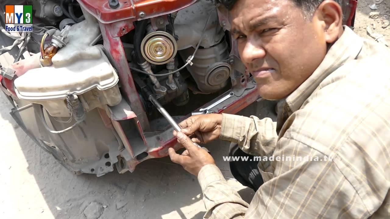 Car Repair & Servicing   Car Mechanic   LIFE IN INDIA ...