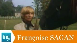 Dans l'intimité de Françoise Sagan - Archive INA