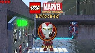 Lego Marvel-Unlock Rescue-2nd Black Panther Mission