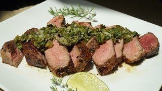 "Juicy Rib Eye Steak With Chimichurri ""willyum"" #3"