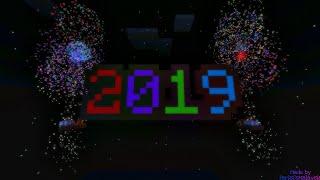 Happy New Year 2019 Minecraft PE happynewyear