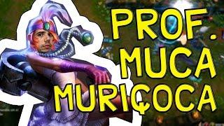 Prof. Muca Muriçoca - LEAGUE OF LEGENDS - Com Rato Borrachudo thumbnail