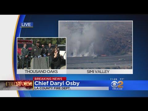 LA County Fire Chief Reacts To Trump Tweets Alleging 'Gross Mismanagement'