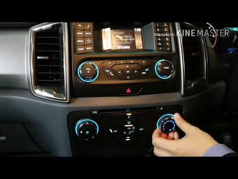 การใช้งานอุปกรณ์ใน Ford Ranger XLT