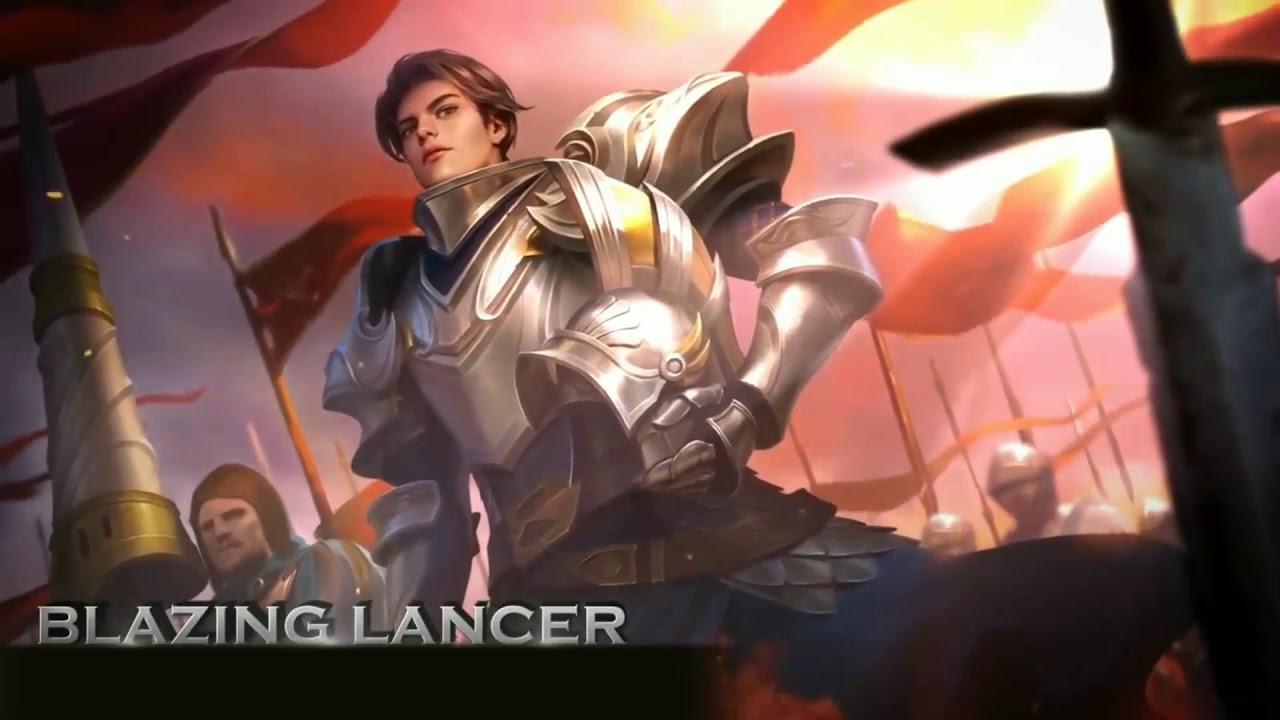 Zilong Blazing Lancer Skin Mobile Legends Moving Wallpaper Mobile Legends Live Wallpaper