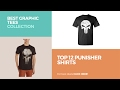 Top 12 Punisher Shirts // Best Graphic Tees Collection