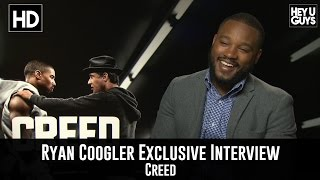 Writer / Director Ryan Coogler Exclusive Interview - Creed