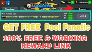 Loot Offer 8 Ball Pool Get Free [ Pool Fantastic Cue ] Reward Link is Back 😱