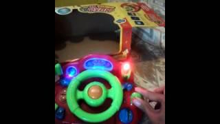 Відеоогляд дитяча іграшка - Joy Toy Автотренажер, я теж керма ''Кермо''