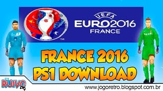 UEFA EURO 2016 (WE2002 Patch) no Playstation 1 / PS1