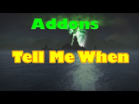 World of Warcraft Addons for Legion: Tell Me When (tracking addon)