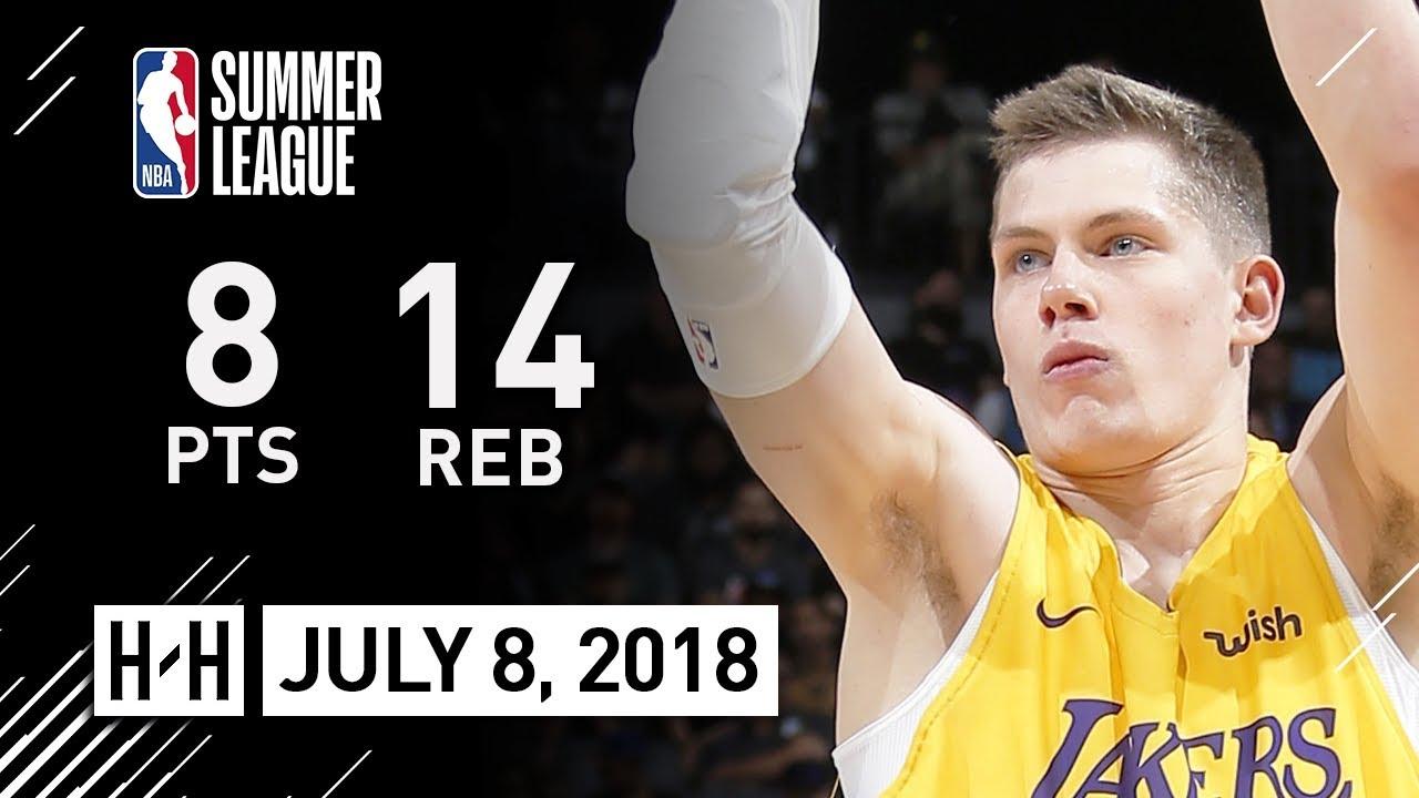 385c28b941ad Moritz Wagner Full Highlights vs Bulls (2018.07.08) NBA Summer League - 8  Pts