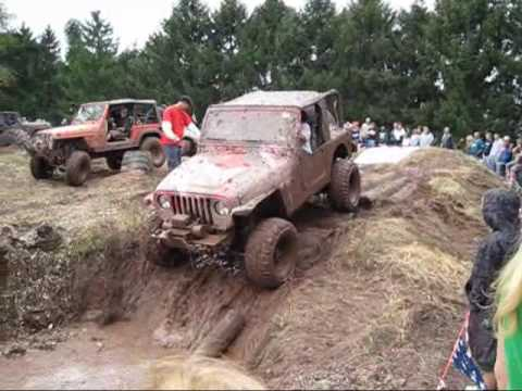 Jeff Daniel's Jeep Show Offroad Obstacle Course  Youtube