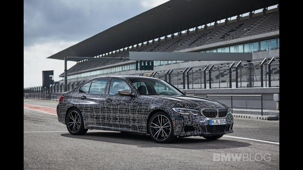 Bmw M340i Track Laps Engine Sound And Drone Views