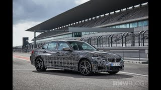 BMW M340i - Track Laps, Engine Sound and Drone Views