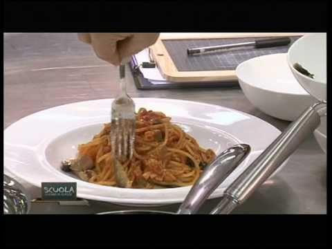 La Scuola - Cucina di classe 1 - Pasta alla puttanesca - Chef ...