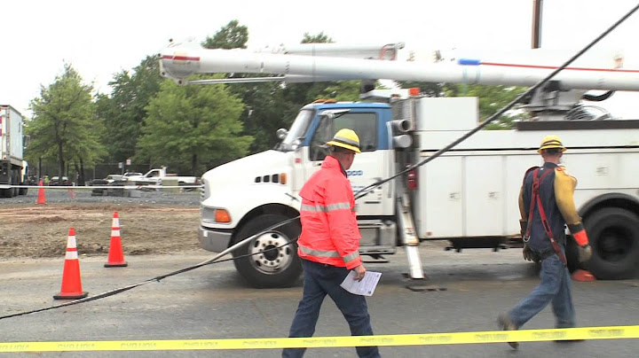 linemen demonstrate how we restore power